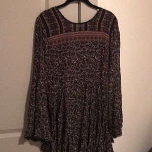 Urban Outfitters Bell Sleeved Dress